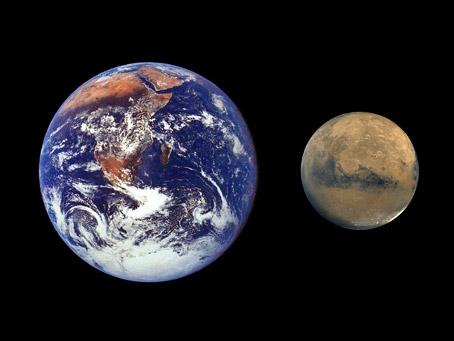 Mars s'est formée en seulement 2 à 4 millions d'années